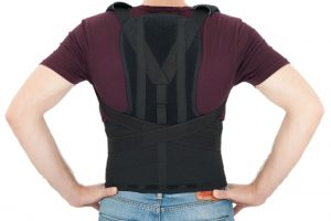 Correcting Posture Using a Back Brace