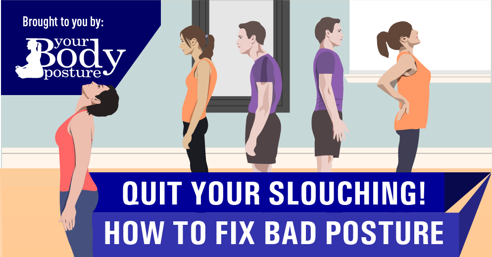Quit Slouching-How To Fix Bad Posture