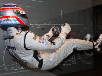 Driving position figure Takuma Sato back-right Suzuka RacingTheater