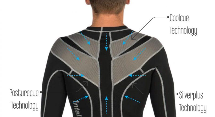 Intelliskin Technology Posture Corrector Shirt