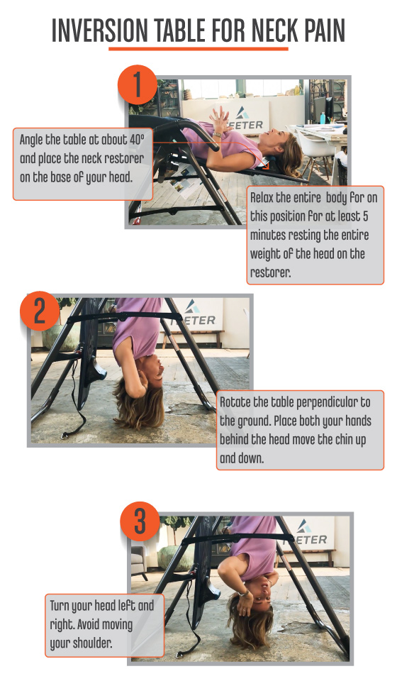 Inversion Table Exercises -NeckPain