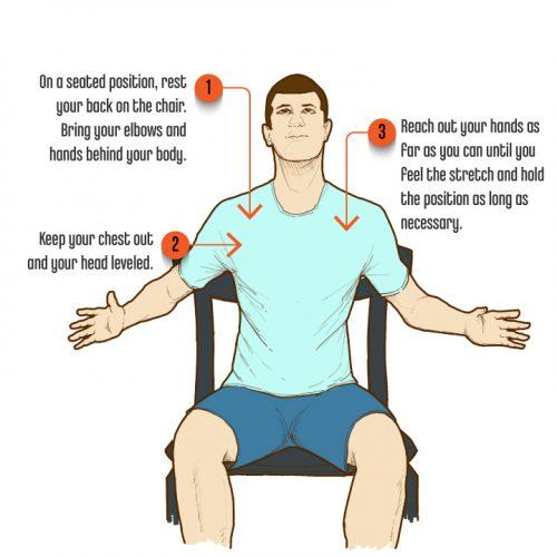 6 SittingPostureExercises ShoulderExtensionOne