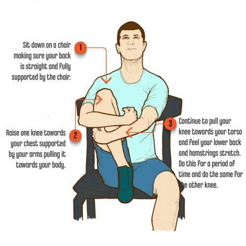 8 SittingPostureExercises SeatedHipStretch